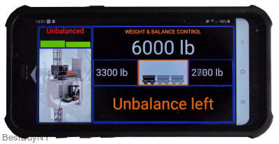 Mobile App  for  Weight and Balance Control  for Construction Hoists & Industrial Elevators V2.1